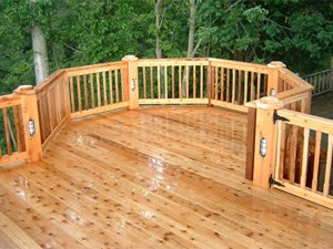 Deck Staining Primer: Clean-up
