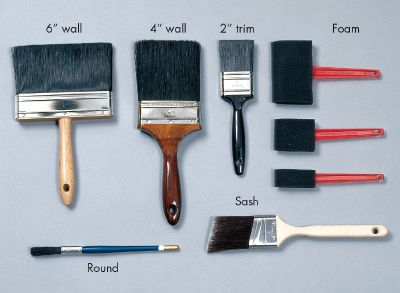compare and choosing the Right Paintbrush